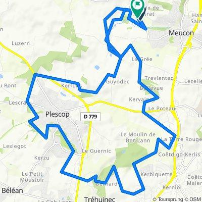 De Route de Grand-Champ, Meucon à Route de Grand-Champ, Meucon