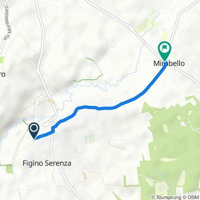 Da Via Mazzini 9, Figino Serenza a Via Milano 137, Vighizzolo