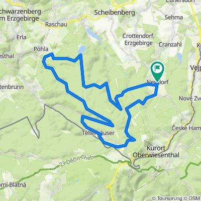 Karzl-Tour von Neudorf nach Pöhla und zurück