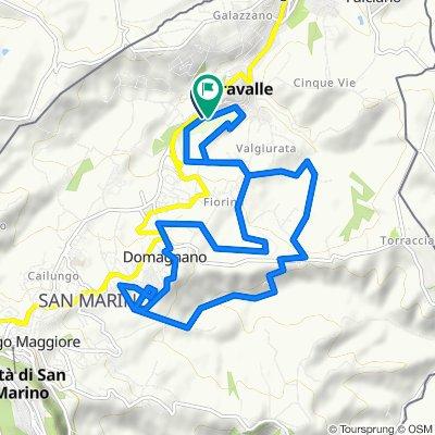 Da Via Sant'andrea 10 a Via Ca' Pontoso 43, Serravalle