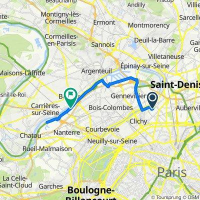 Saint-Ouen / bords de Seine