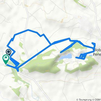 Route to BP-2121, Sant Martí Sarroca
