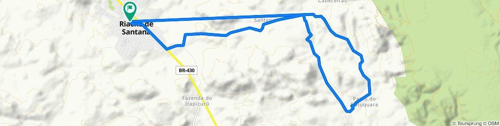 De Rua da Palha, 103–149, Riacho de Santana a Rua da Palha, 152–214, Riacho de Santana
