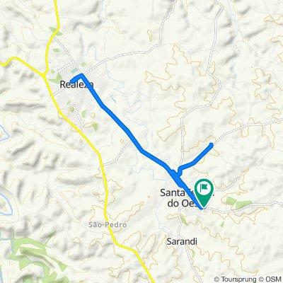 De Rua Guabiju, 890–998, Santa Izabel do Oeste a Rua Guabiju, 890–998, Santa Izabel do Oeste