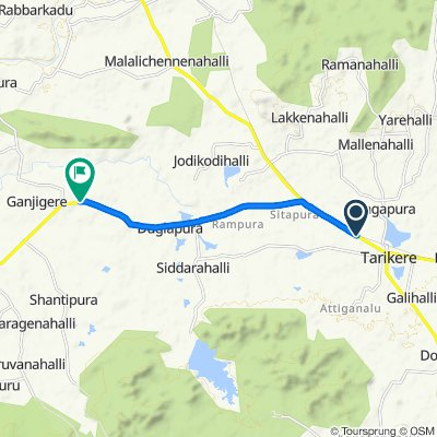 Easy ride in Chikmagalur
