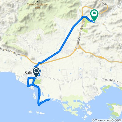 Paseo lento en Salinas
