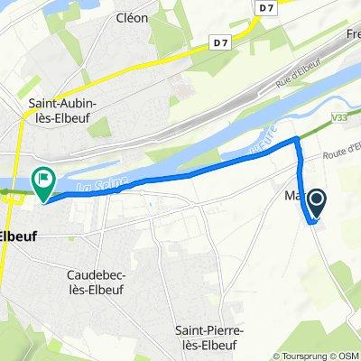 De 10 Lotissement Saint-Aignan, Martot à 16 Rue de Marignan, Elbeuf