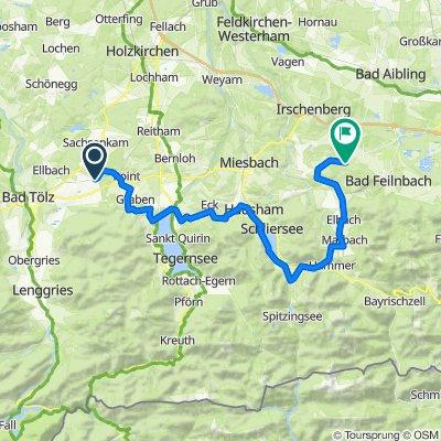Kornblumenweg 5A, Reichersbeuern nach Berg 1, Bad Feilnbach