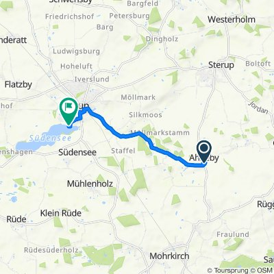 Dorfstraße 16, Ahneby nach Seeblick 16, Sörup