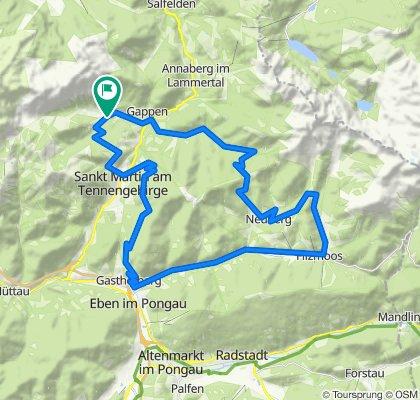 E-Bike Tour Lammertal-Filzmoos-Eben-Platten-St. Martin-Lammertal
