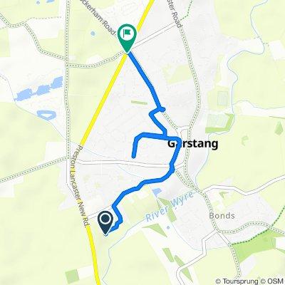 1 Richardson Avenue, Preston to 123 Croston Road, Preston