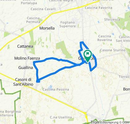 Moderate route in Gambolò
