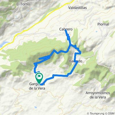 Gargüera - Cabrero - Barrado