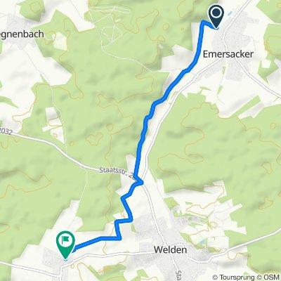 Schmiedgasse 37, Emersacker nach Villenbacher Weg 5, Welden