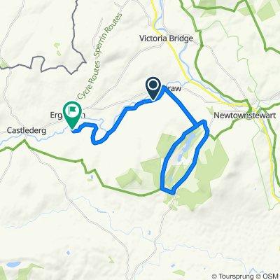 Greenville Road, Omagh to 40–42 Drumnabey Road, Castlederg