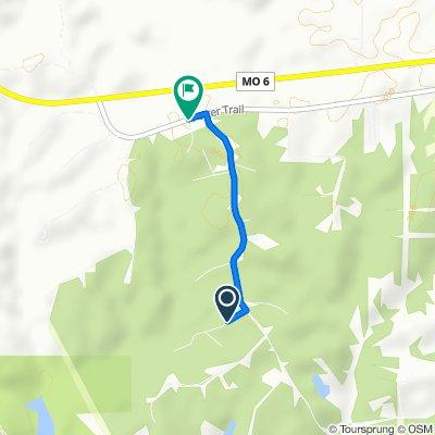 22470 Yellow Brick Trail, Kirksville to 22300–22398 Potter Trail, Kirksville