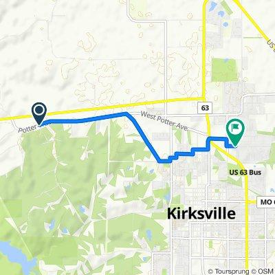 22300–22398 Potter Trail, Kirksville to 810 Kings Rd, Kirksville