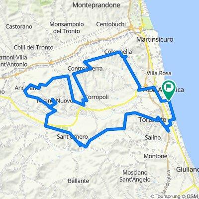 Da Via Marconi 234, Alba Adriatica a Via Marconi 234, Alba Adriatica