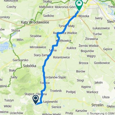 Mniowice, Łagiewniki do Kościelna 1–21, Wrocław