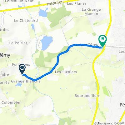 De 250 Chemin de la Gravière, Saint-Rémy à 780–816 Rue Jean Mermoz, Saint-Denis-lès-Bourg