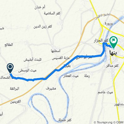 Egypt, Sabk Ad Dehak to Banha, Qism Banha