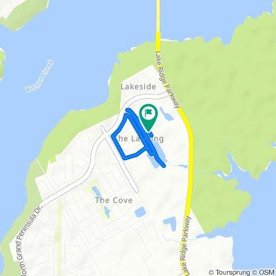 6891 Lagoon Dr, Grand Prairie to 6900–6998 Lagoon Dr, Grand Prairie