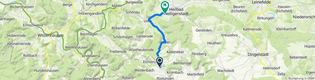 Schulwiese 5, Dieterode nach Liesebühl 20, Heilbad Heiligenstadt