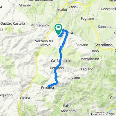 Restful route in Albinea