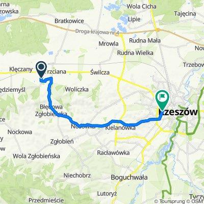 Dąbrowa to Stanisława Wyspiańskiego 18D, Rzeszów
