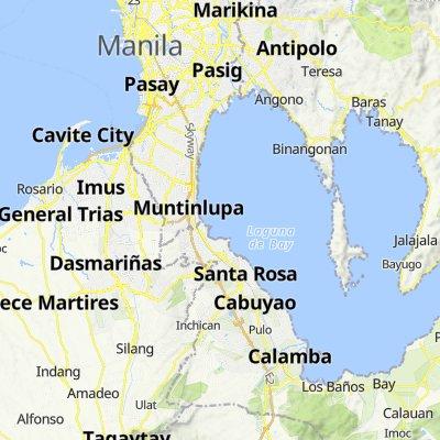 Unnamed Road, Calamba to Hipodromo 357, Maynila