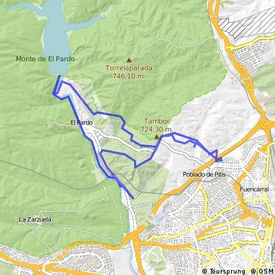 Monte Carmelo - El Pardo