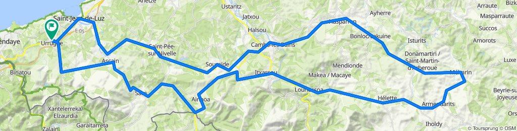 Urrugne-Sare-Daqntzarinea-Ainhoa-Cambo-Armendarits-Hasparren-Cambo-Saint Pee-Saint Jean de Luz-Urrugne