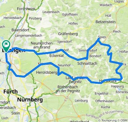 Erlangen Rennradfahren