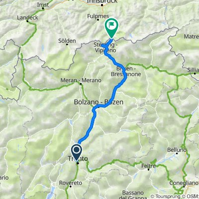 Night ride to Austria