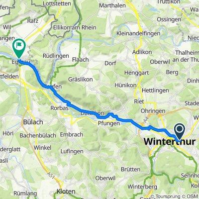 Römerstrasse 50, Winterthur to Eglisau