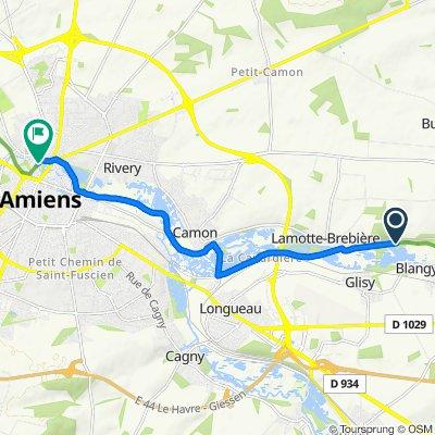Itinéraire vers 71 Quai Saint-Maurice, Amiens