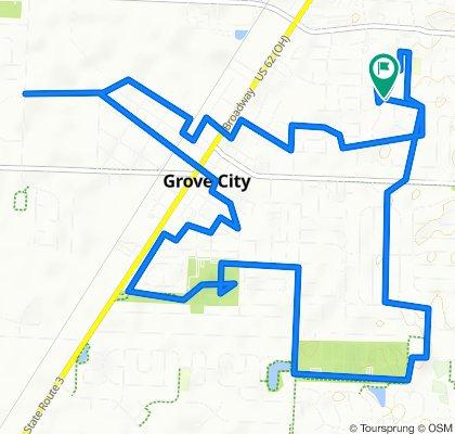 2861 Dennis Ln, Grove City to 2860 Dennis Ln, Grove City