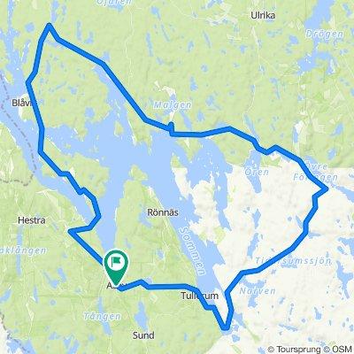 Asby 10 mil via Torpön