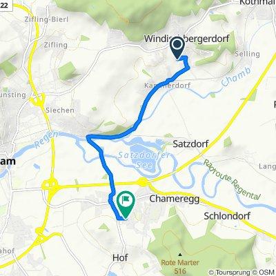 In der Point 24, Cham nach Obere Schulstraße 12, Cham