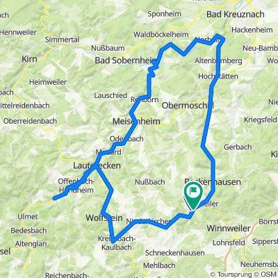 Kreuzweg 17, Gundersweiler nach L387 23, Gundersweiler