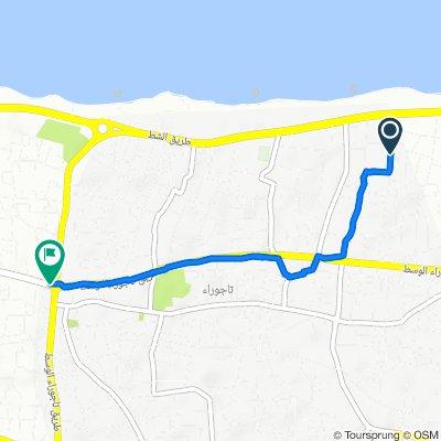 Unnamed Road, Tripoli to Central Tajoura Street, Tripoli