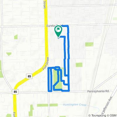 3505 21st St, Wyandotte to 2051–2099 Pine St, Wyandotte