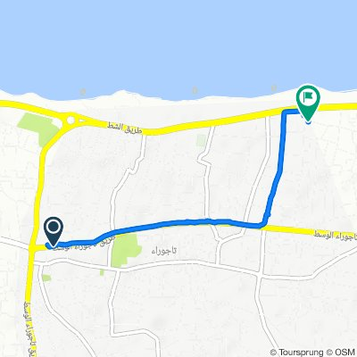 Unnamed Road, Tripoli to Unnamed Road, Tripoli