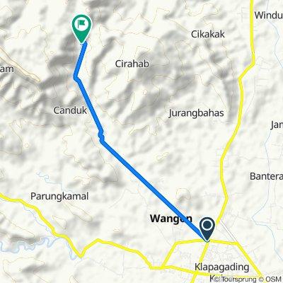 Jalan Banteran, Kecamatan Wangon to Unnamed Road, Lumbir, Banyumas