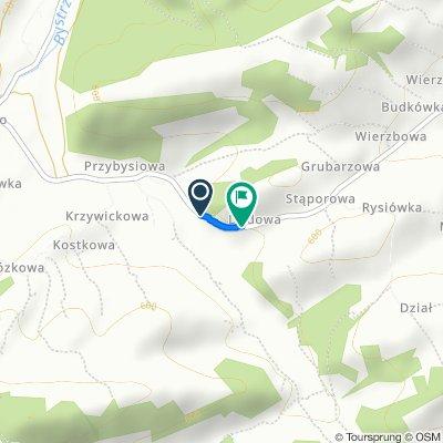 Sidzina nach Toporzysko