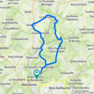 Tour cleres/Bocasse 41Km