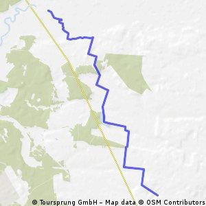Projekt szlaku rowerowego w Gm. Żyrzyn