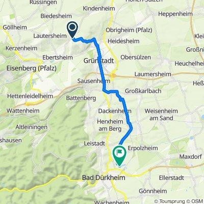 Vor der Pforte 13, Quirnheim nach In den Almen 3, Bad Dürkheim