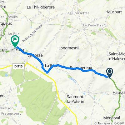 De Rue Arthur de Fricourt, Haussez à 1 Rue Guy de Maupassant, Forges-les-Eaux