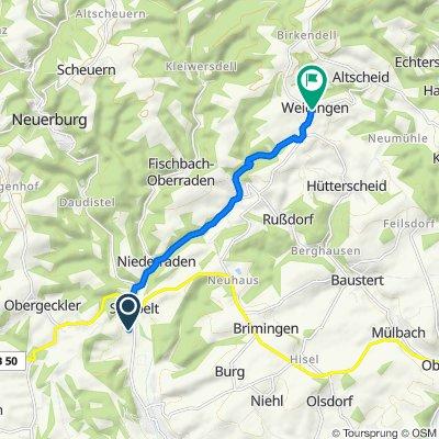 Im Steinborn 12, Sinspelt nach Gartenstraße 12, Weidingen